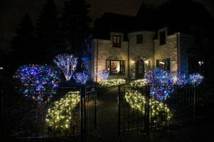 holiday lighting design